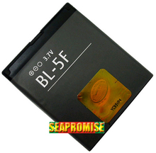 Free shipping retail phone battery BL-5F BL5F BL5F for NOKIA N95 6210N 6210S 6210SI 6260S 6290 6710N E65 N93I N96 N98 N99