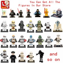 Single Star Wars Stormtroopers Clonetroopers Snowtroopers Deathtroopers Imperial Army Building Blocks Toys for Children