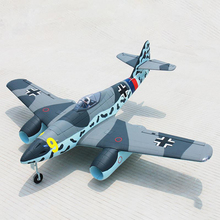 Buy Dynam 1500MM ME-262 RC PNP/ARF Propeller Plane W/ Motor ESC Servos W/O Battery for $275.00 in AliExpress store