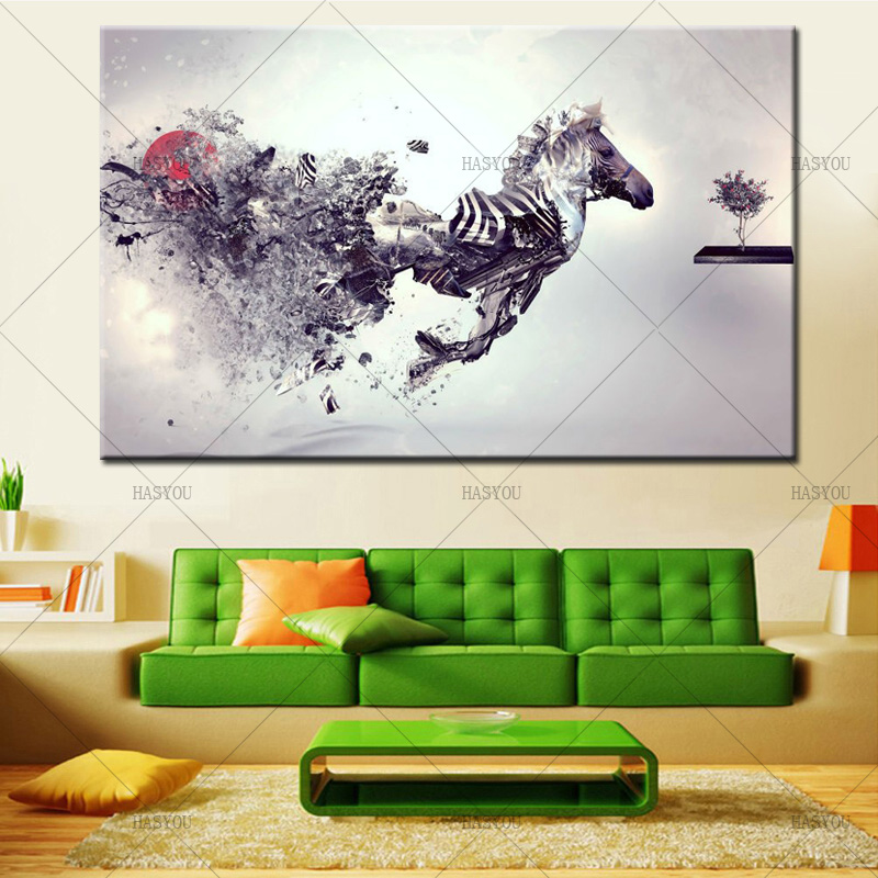 Marvel-Canvas-Wall-Art-Running-Zebra-Painting-for-Living-Room-Wall-Decoration-Hand-Painted-Abstract-Animal