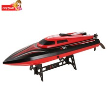 Large RC Boat 2.4G Remote Controlled Electric High Speed Racing Boat for Pools Lakes Outdoor Adventure For Kids over 3 years