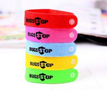 10 Pcs Anti Mosquito Bug Repellent Wrist Band Adjustable Strap Bracelet Insect Nets Bug Lock for Camping Fishing Non-toxic(China)