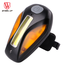 WHEEL UP 2017 USB Recharge Warning Seatpost Tail-light Cool Shape Modes MTB Road Bike Light Front For Night Bicycle Back Light