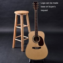 OEM custom guitar, Dreadnought Acoustic Guitar,solid Spruce top, rosewood fingerboasrd Free Shipping