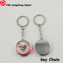 200pcs New lovely mobile phone chain pendant material DIY 37MM single side mobile strap button,pin badge button materials