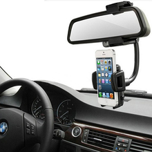 45-88mm Width Universal Car Rearview Mirror Holder for iPhone Samsung Phone Electronic equipment GPS PDA MP3(China)