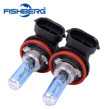 2pcs 12V 55W 6000K H11 Car Fog Light Bulb Lamp Super White Halogen Xenon Car Auto Head Lamp Cars H11 Car Styling(China)