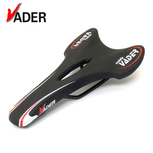 Vader Thin Cycling Bicycle Saddle Pro Racing Leather Bike Seat Saddle Mountain Road Bike Shockproof Soft Comfort Cushion Seat(China)