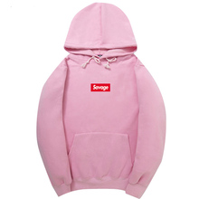 Men Suprem Hoodies Pink Autumn New Spoof Cartoon Fashion Printing Cotton 1:1 Casual Sweatshirts Men/Women Hoodies Sweatshirts(China)