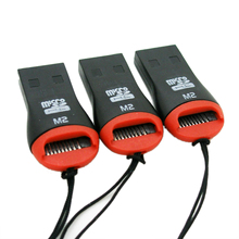 GTFS-Hot Sale 3 x USB 2.0 Micro SD Card Adapter Reader Writer SDHC MMC Micro Sd 2528c(China)