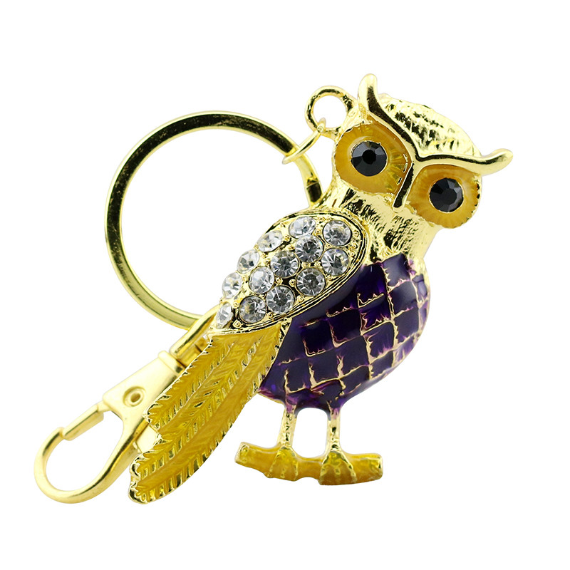Animal USB Flash Drive Metal Diamond Owl Pendrive Nighthawk Pen Drive 4GB 8GB 16GB 32GB 64GB USB Memory Stick Gift With Necklace 33
