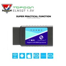 Buy Super Mini ELM327 Wifi V1.5 OBD2 Code Reader Diagnostic Tool OBDII ELM327 WI-FI IOS for $8.39 in AliExpress store