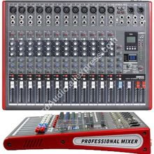 MICWL LE12 Pro 12 Ch 99 DSP Effects Stereo Microphone Mixer Sound Mixing Console MP3 USB 48V 24-Bit Multi-FX Processor