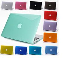 Transparent Crystal Case For Apple Macbook air 11 12 Pro 13 15 Retina 2016 Protector cover clear hard plastic bags A1707 A1708