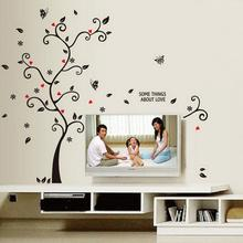 3D DIY Removable Photo Tree Pvc Wall Decals/Adhesive Wall Stickers Mural Art Home Decor Muslim Vinyl Stickers Wall Decor