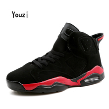 New Men Women Basketball Shoes Breathable Wear Resisting Waterproof Athletic Shoe Couple Quality Dmx Rubber Cotton Fabric Thread