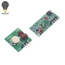 Smart Electronics 433Mhz RF transmitter receiver Module link kit arduino/ARM/MCU WL diy 315MHZ/433MHZ wireless