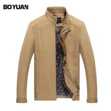 BOYAUN Brand Clothing 2017 New Fashion Brand Jacket Men Clothes Trend Slim Fit High-Quality Casual Mens Jackets Coat BYH812