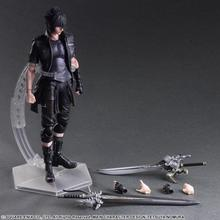 Final Fantasy Action Figure Play Arts Kai Noctis Lucis Caelum Anime Final Fantasy 15 Model Toys 270MM Playarts