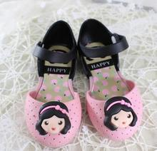 2017 new summer Hello kitty KT cat design child sandals beach shoes breathable girls jelly  sandals