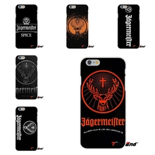 Cool Art Jagermeister Logo Beer Silicone Phone Case For iPhone X 4 4S 5 5S 5C SE 6 6S 7 8 Plus Galaxy Grand Core Prime Alpha(China)