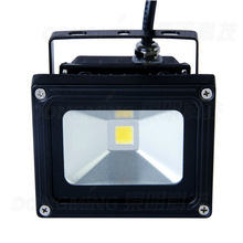 HOT PRODUCT 100pcs 10 watt led flood light suppliers outdoor white IP65 900LM RGB 10w led security flood light 12VDC