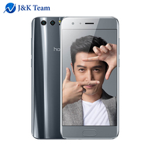 Global Firmware Huawei Honor 9 6G 64G Curved smartphone Android 7.0 Octa Core 2.4GHz 5.1 inch 1920*1080 3200mAh Dual Rear 20MP(China)