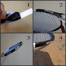 Tennis dedicated/racket Protector/racket head to reduce the impact and friction stickers Tennis overgrip