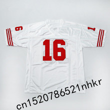 Retro star #16 Joe Montana Embroidered Name&Number Throwback Football Jersey(China)