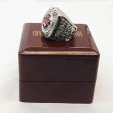 Promotion 2014 wisconsin final four Ring Championship ring With Wooden Boxes(China)