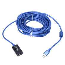 DSHA New Hot 10M USB 2.0 Extension Cable Active Repeater