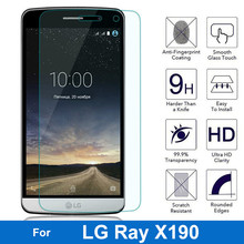 0.26mm 9H Tempered Glass For LG Ray X190 F670 5.5 inch Screen Protector For LG Ray X190 Front Guard Film Cover Case(China)
