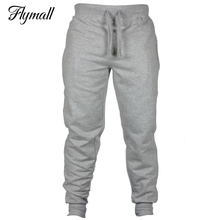 Warm Thick Mens Pants for Winter Bodyboulding Hip Hop Clothing Street Trousers Fitness Jogger Sweatpants Casual Sweat Pants 2XL(China)