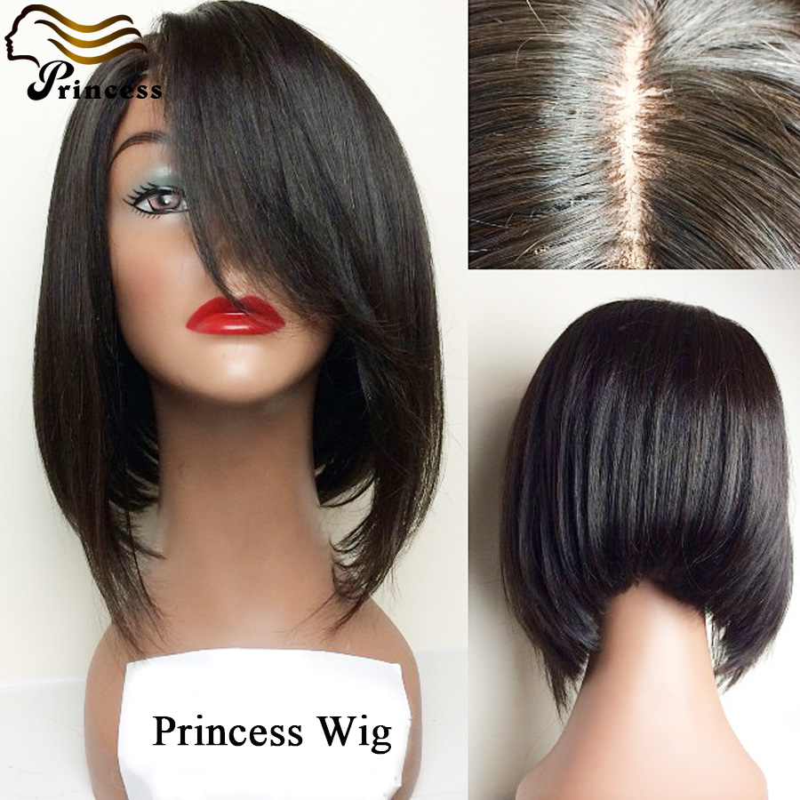 Best Quality Peruvian Full Lace Wig Virgin Short Bob Hair Wigs For Black Women Glueless Straight Lace Front Wigs With Baby Hair<br><br>Aliexpress