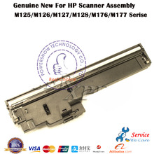 4X Original New For HP M125 M126 125 126 125A 126A M127 M128 flatbed scanner Assembly Unit head  printer parts