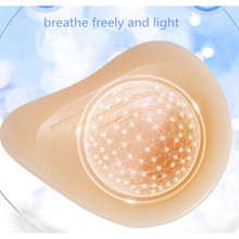 Buy 175g/piece Size3 75B/80A Breast Cancer Treatment Breast Reconstruction 100% Medical Silicone Breast Forms Care Armpit