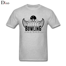 Bowlinger Ball Tees Shirt Men Male 3XL White Short Sleeve Custom XXXL Group  Tshirt