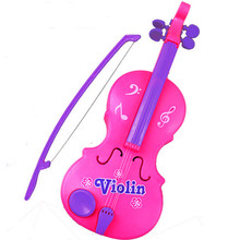 Magic Child Music Violin Children's Musical Instrument For Kids Christmas Gift Pink Violin Toys Bateria Instrumento Musical