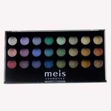 MEIS Brand eyeshadow palette makeup Professional make up Eye shadow 24 Colors eyeshadow Palette Beauty eye glitter MS2413