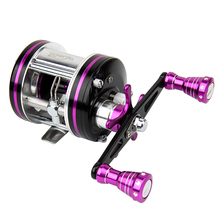 Trulinoya New 5400 327g Left / Right Hand 7BB Full Metal Cast Drum Wheel Drum Fishing Reel Bait Casting Fishing Reel