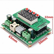 DC DC Step Down module 6-40V to 0-36V Digital display Adjustable LED Buck Module Solar Battery Charging Power 12V 24V(China)