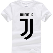 2017 New Juventus print Girls Boys T Shirt short bianconeri Camiseta fans club T-Shirt Casual Italian Gianluigi Buffon Tops Tees(China)