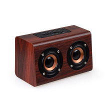 SYMRUN 2017 New Wooden Bluetooth Speaker Suitable For Mobile Phone Notebook Speaker PC TF Card/AUX Mini Speaker Bass Sound