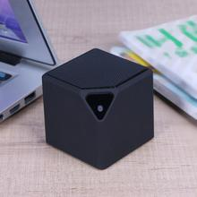 Fashion Mini Speaker X3 Cube Bluetooth Speaker Portable Plug-in Wireless Audio(China)