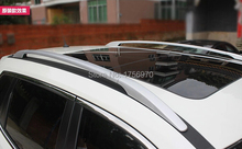 Aluminium Alloy Silver Roof Rack Side Rails Bars For nissan Rogue 2014 2015 2016 / X-trail 2014 2015 2016