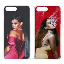 Buy Rihanna Apple iPhone X 8Plus 8 7Plus 7 6sPlus 6s 6Plus 6 5 5S SE 4S 4 Fashion Coque Mobile Phone Case Cover bags for $2.69 in AliExpress store