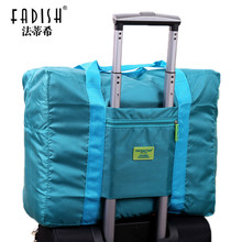 2017 Foldable Brand Designer Luggage Travels Bags Organizer Waterproof Women And Men Duffle Carry On Luggage Traveling Bag(China)