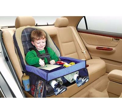 Children Toddlers Car Safety Belt Travel Play Tray waterproof Table Baby Car Seat Cover Harness Buggy Pushchair Snack Laptray<br><br>Aliexpress