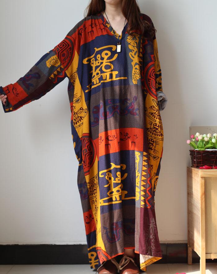 Aafrika mustriga omapärased lohvakad kleidid