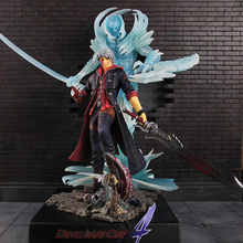 Original EZHOBI Devil May Cry 4 Magic Man Nero Dante Luminous Garage Kit Statue for Collection Gift